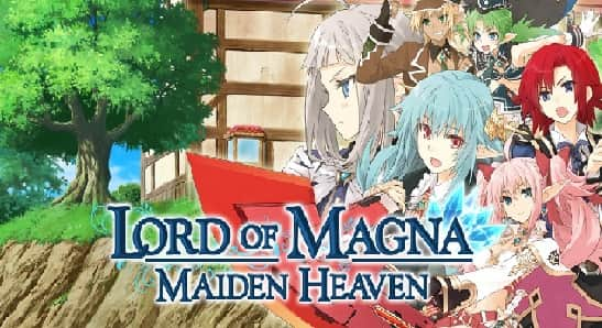Lord of Magna Maiden Heaven para 3DS
