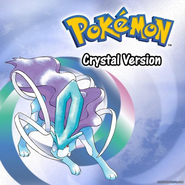 pokemon edicion cristal Nintendo 3DS