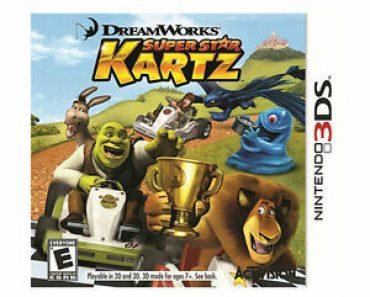 DreamWorks Super Star Kartz Nintendo 3DS 2020