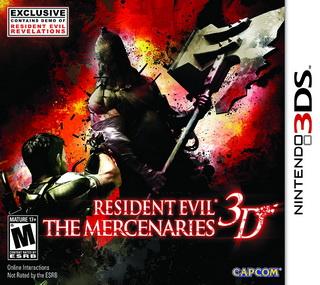 Descargar Resident Evil The Mercenaries 3D CIA UPDATE USA EUR