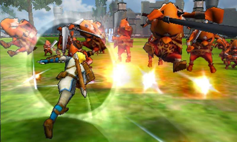 Hyrule Warriors Legends para 3DS