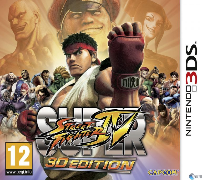 descargar Super Street Fighter IV 3D Edition mega