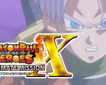 Dragon Ball Heroes Ultimate Mission X CIA