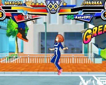 Boku no Hero Academia Battle For All CIA 3DS JAP