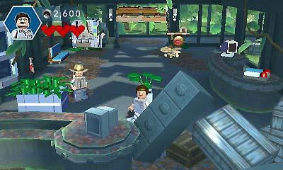Descargar LEGO Jurassic World CIA 3DS EUR