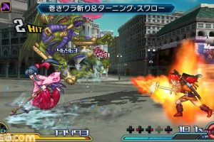 Descargar Project X Zone 2 CIA 3DS EUR