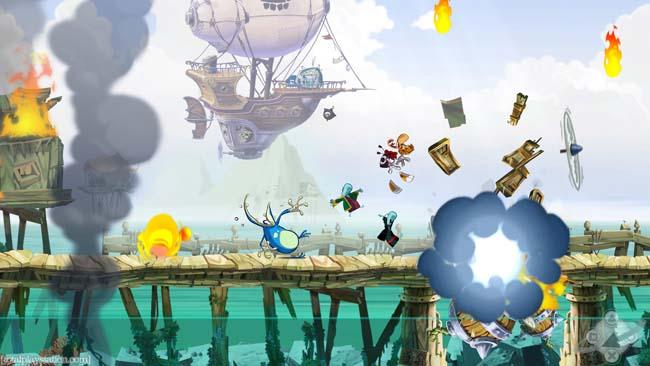 Rayman Origins 3D [USA] 3DS [Multi-Español] CIA