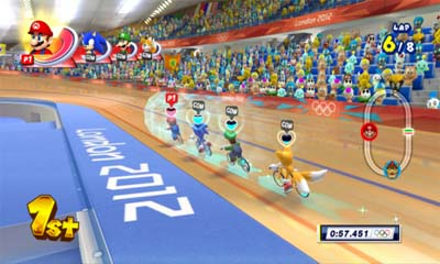 Mario and Sonic 2012 Olympic Games CIA
