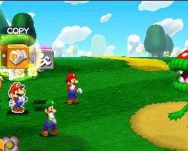 Mario and Luigi Paper Jam CIA