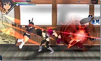 Descargar Senran Kagura Burst CIA 3DS