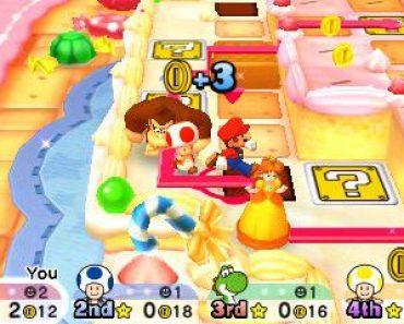 Mario Party Star Rush 3DS ROM - CIA EUR & USA (Region