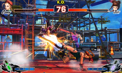 Street Fighter IV 3D Edition CIA 3DS