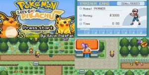 descargar Pokémon Lets Go Pikachu ROM GBA