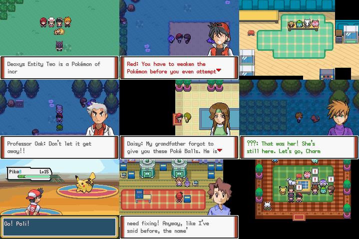 Descargar Pokémon Adventures Red Chapter ROM GBA