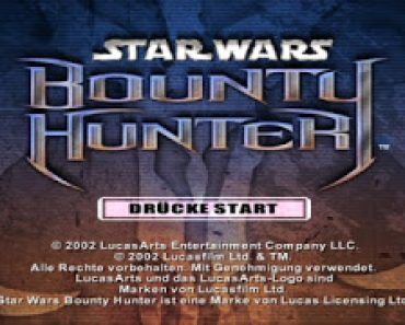 Star Wars Bounty Hunter Play Station 2 PS2 PAL ESPAÑOL