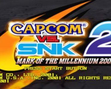 Capcom vs. SNK 2 Mark of the Millennium [PS2][Mega
